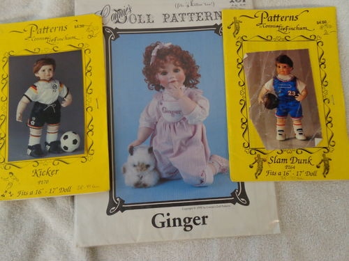 2 patterns from Connie's Doll Patterns engl.lang.
